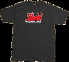 Toy Machine - Devil Cat Ss S - Black - Skateboard T-Shirt