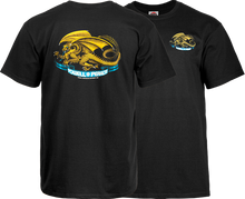 Powell Peralta - / P Oval Dragon Ss M - Black - Skateboard T-Shirt