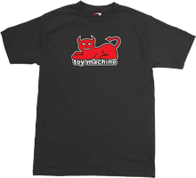 Toy Machine - Devil Cat Ss Xl - Black - Skateboard T-Shirt