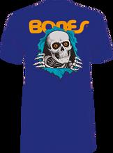 Powell Peralta - / Peralta Ripper Ss M - Navy - Skateboard T-Shirt