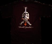 Powell Peralta - / Peralta Skull & Sword Ss Xl - Black - Skateboard T-Shirt