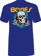 Powell Peralta - / Peralta Ripper Ss L - Navy - Skateboard T-Shirt