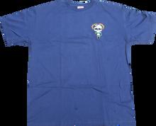 Powell Peralta - / P Mcgill Skull & Snake Ss L - Navy - Skateboard T-Shirt