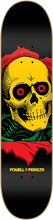 Powell Peralta - / P Bl - Ripper 5 Rasta Deck - 8.0 Ligament - Skateboard Deck