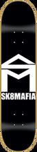 Skate Mafia - House Deck - 8.0 Blk / Wht - Skateboard Deck