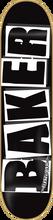 Baker - Brand Logo Deck - 8.47 Blk / Wht - Skateboard Deck