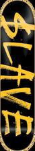 Slave - Corporate Deck - 7.5 Black / Yellow - Skateboard Deck