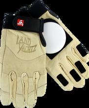 Landyachtz - Leather Slide Gloves S - Khaki - Skateboard Pads