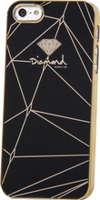 Diamond - Iphone5 Snap - On Case - Lines Black