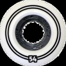 Form - Dualite 51mm White / Black Ppp - (Set of 4) Skateboard Wheels