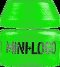 Mini Logo - Bushing Set Soft 84a Green 2pcs(cone/barrel)