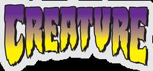 "Creature - Logo Clear Purple Decal 5x2.25"""