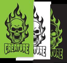 "Creature - Bonehead Decal 4x6.75"""