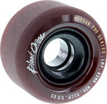 Blood Red Orange - Orange Morgan 65mm 82a Maroon - Skateboard Wheels (Set of Four)