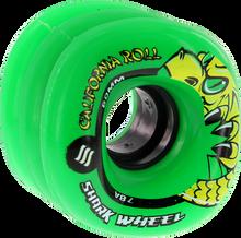 Shark Wheels - California Roll 60mm 78a Green - Skateboard Wheels (Set of Four)