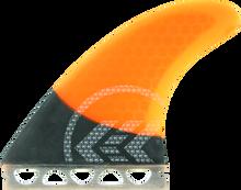 Kinetik - Joel Parkinson Carbo Tune Sml Ffs Neon Org - Surfboard Fins