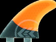 Kinetik - Joel Parkinson Carbo Tune Sml Fcs Neon Org - Surfboard Fins