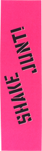 Shake Junt - Single Sheet Colored Grip 9x33 Pink/blk/wht
