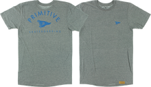Primitive - Arch Pennant Ss M-athletic Heather Grey - Tshirt
