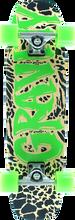 "Gravity - Wingman 30"" Blk/nat/grn Complete-8x30 - Complete Skateboard"