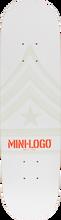 Mini Logo - Deck 191/k16 Mini-7.5 White Ppp - Skateboard Deck