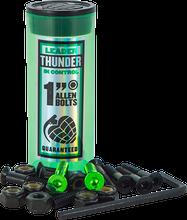 """Thunder Trucks - 1"""" Allen Hardware Green 1set"""