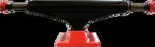 Industral Trucks - Iv 5.25 Blk/neon Red W/blk Logo Ppp - Skateboard Trucks (Pair)