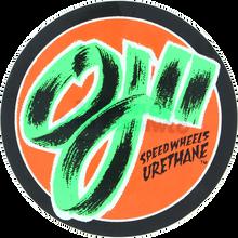 """Oj Wheels - Speed Wheels 3""""x3"""" Decal Single"""