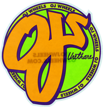 "Oj Wheels - Standard 6""x6.5"" Decal Single"