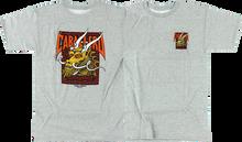 Powell Peralta - Cab Street Dragon Ss M - grey - Skateboard Tshirt