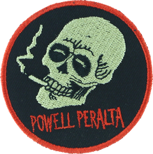 Powell Peralta - Smoking Skull Patch