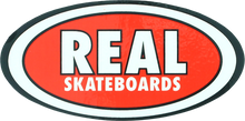 Real - Oval Classic Sm Decal Single