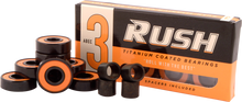 Rush - Abec - 3 Bearings W/spacers Ppp - Skateboard Bearings