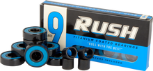 Rush - Abec - 9 Bearings W/spacers Ppp - Skateboard Bearings