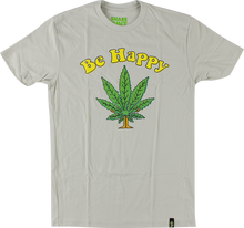 Shake Junt - Be Happy Ss S - sand Off Wht - Skateboard Tshirt
