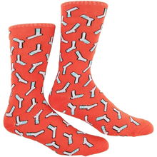 Skate Mental - Mental Sock Crew Socks Rust Red Single Pair