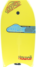 "Wave Rebel - Rebel Hawaii 39"" Yel Bodyboard"