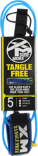 Xm - Tangle Free Ds Complite Leash 5' Blue - Surfboard Leash