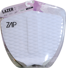 Zap - Lazer Tail Pad White - Surfboard Traction