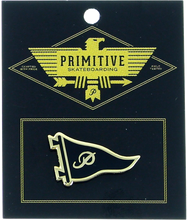 Primitive - Pennant Lapel Pin Blk/gold