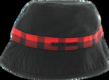 Bones Bearings - Bearings Swiss Plaid Bucket Hat S/m - blk/red