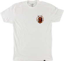 Clich???? - Satan Ss L - white - Skateboard Tshirt