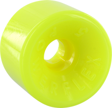 Powerflex - 5 63mm 88a Yellow - Skateboard Wheels (Set of Four)