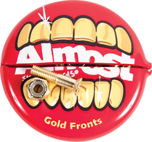 """Almost - Gold Nuts & Bolts 7/8""""allen Hardware Set"""