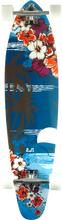 Punked - Kicktail Complete-10x40 Tropical Night (Complete Skateboard)