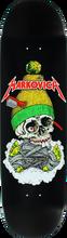 Clich???? - Markovich Skull Deck-8.5 Black Transfer (Skateboard Deck)