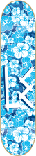 Life Extension - Og Logo Hawaiian Deck-8.0 Blue/wht (Skateboard Deck)