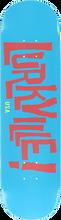 Lurkville - Logo Deck-8.0 Keaveny Colorway Blu/pink (Skateboard Deck)