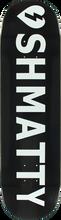 Mystery - Shmatty Logo Deck-8.25 Black (Skateboard Deck)