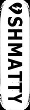 Mystery - Shmatty Logo Deck-8.25 White (Skateboard Deck)